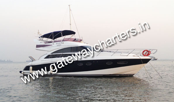 Princess 54 Yacht on Hire in Mumbai