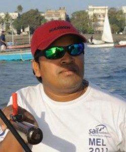 Rakesh Varadkar Sailing