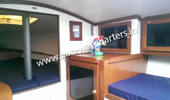 J24 Cabin Sailboat