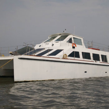 AC Catamaran Party Yacht Mumbai
